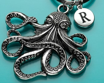 Huge Octopus Keychain 7048a02eb438