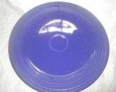 HOMER LAUGHLIN Fiesta Cobalt 12 quot Chop Plate