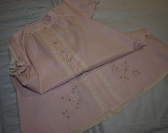 1fd4f66b2479 Hand Embroidered Hand Made Cotton Voile Baby Wrap Shawl or