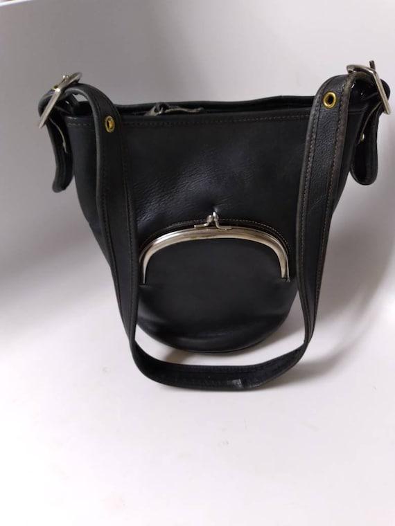 Bonnie Cashin for Meyers Black shoulder bag
