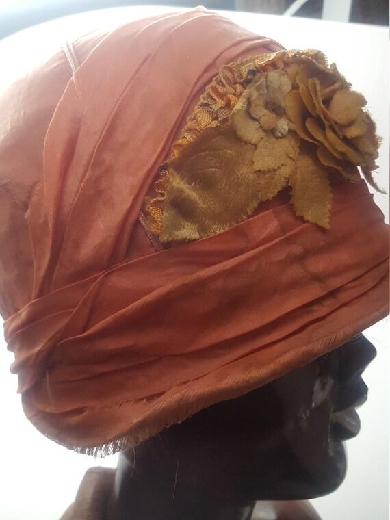 Original Flapper Cloche Hat 1920's