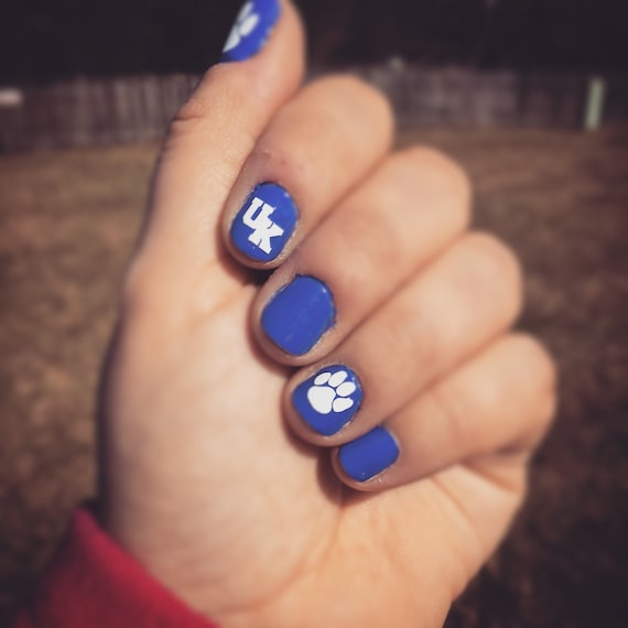 Vinyl Nail Decals - Kentucky Wildcats - FREE SHIPPING! from ...