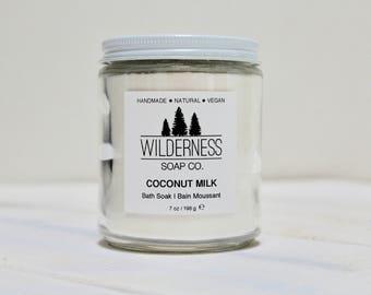 Coconut Milk Bath Soak, Natural Bath Soak, Vegan Bath Soak, Handmade Bath Soak