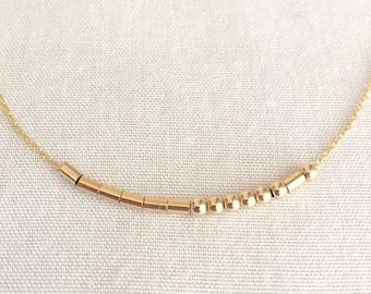 Custom Morse Code Necklace, Morse Code Jewelry, Name Bracelet, Sister Gift, Mother Gift, Best Friend, Inspiration Bracelet, Motivation