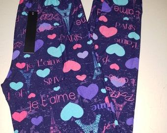 113bd842f3933 Paris love valentine os plus and ex leggings