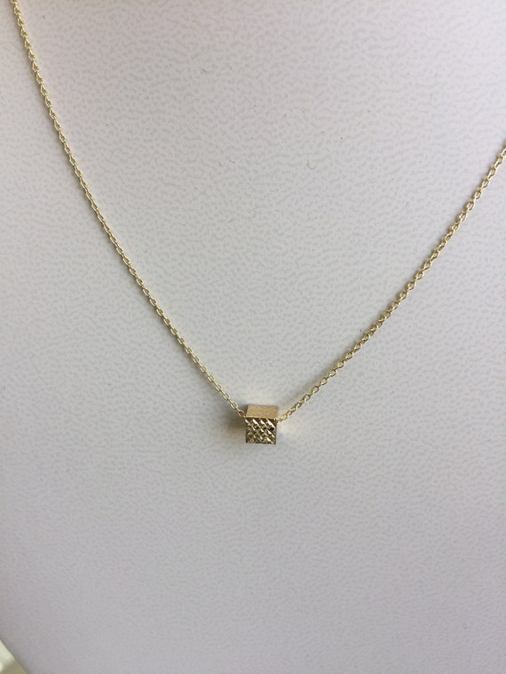 14K Yellow Gold Special Mother Pendant on an Adjustable 14K Yellow Gold Chain Necklace