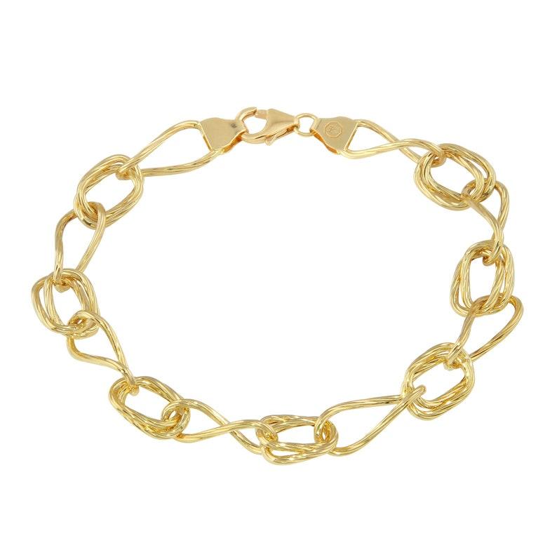 59d7935b 18K Yellow Gold Chain Bracelet