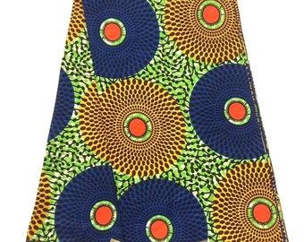 African wax print fabric- green- ankara scarf - African print scarf-African print pillows-ankara designs-Ankara dresses- ankara