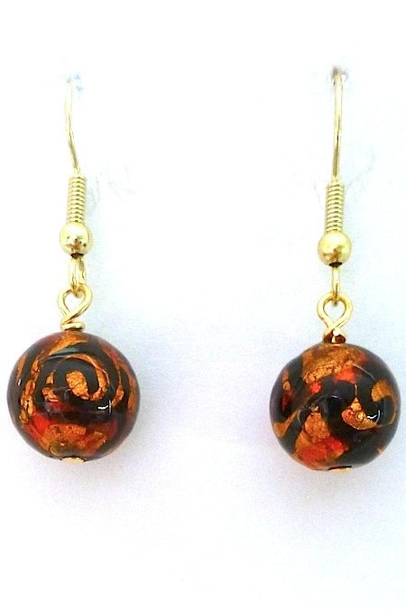 100/% Murano Glass Earrings