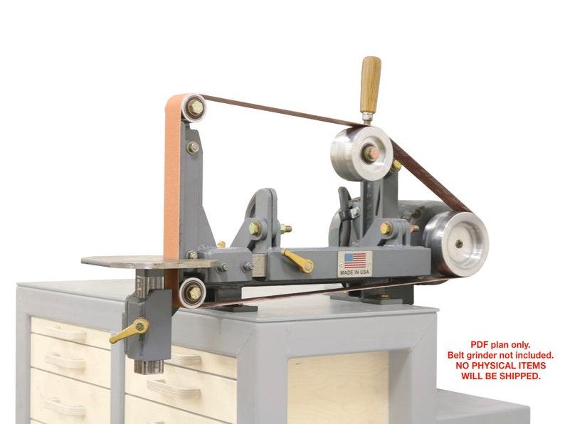 2x72 belt grinder plans image 0