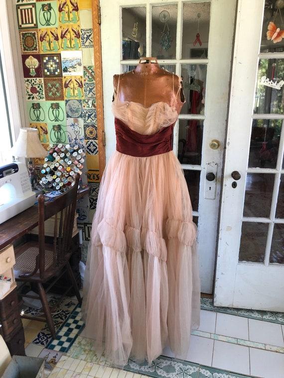 40's/50's Ceil Chapman gown - image 2