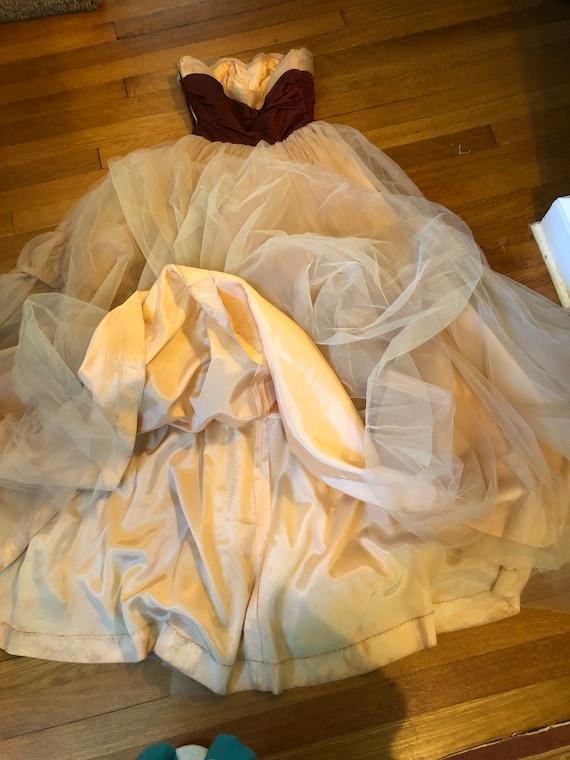 40's/50's Ceil Chapman gown - image 5