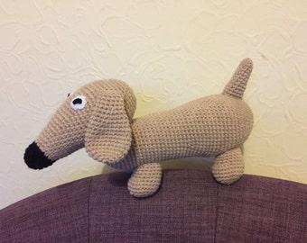 Crochet Dachshund Sausage Dog