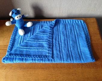 Handmade baby car seat blanket