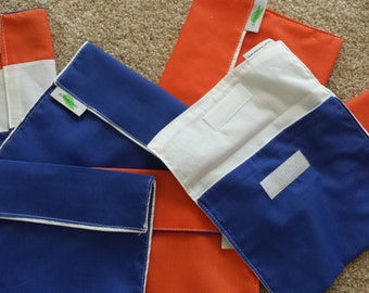 Reusable Eco friendly Sandwich Bag and Snack Bags