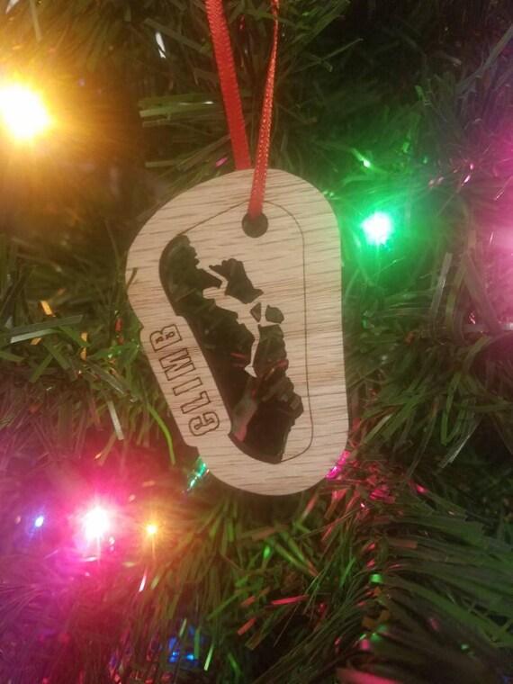image 0 - Rock Climbing Christmas Ornament Etsy