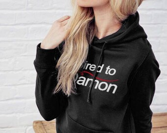 bb52846163e56 The Vampire Diaries Printed Black Hoodie Damon Salvator, Vampires, Sired to  Damon