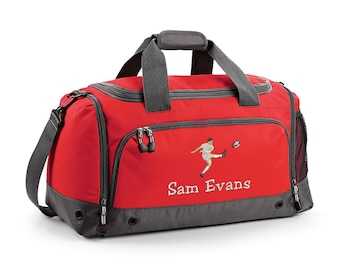 5651d3a6c536 Personalised Embroidered Rugby Bag Holdall