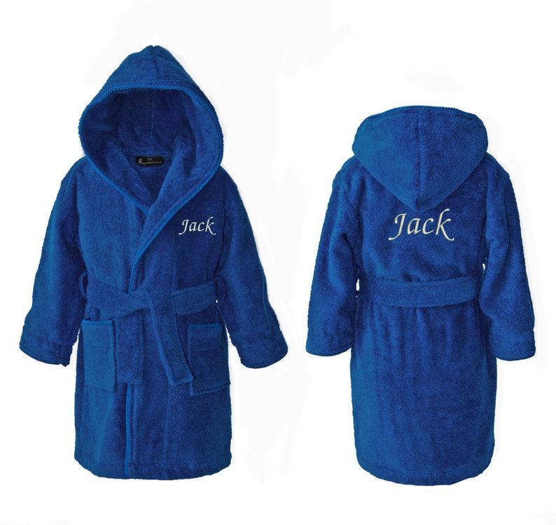 6028003e54 Personalized Kids Robes Personalised Children s Towelling