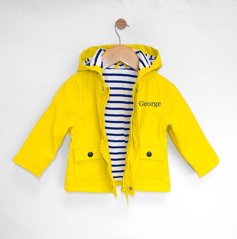 3301ccc94 Personalised Personalised Baby Raincoat Baby Rain Jacket Baby | Etsy