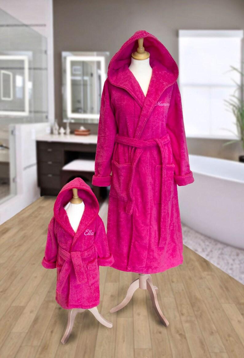 e6efc3ec44 Personalisierte Mutter und Tochter passenden Kapuzen | Etsy