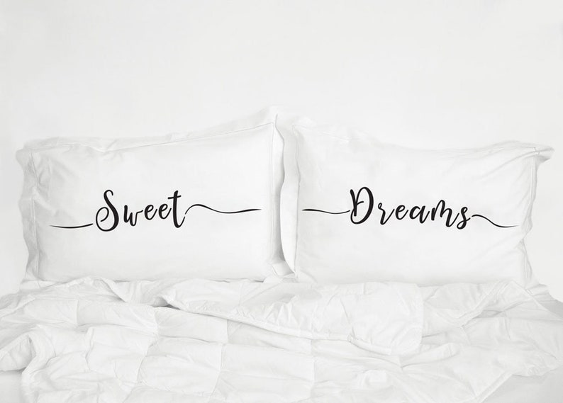 Süße Träume Kissenbezüge Bettwäsche Kissenbezüge Bedruckt Etsy