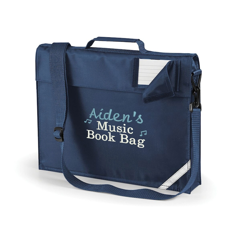 Personalised Music Lesson Book Bag with your Child's Name image 0