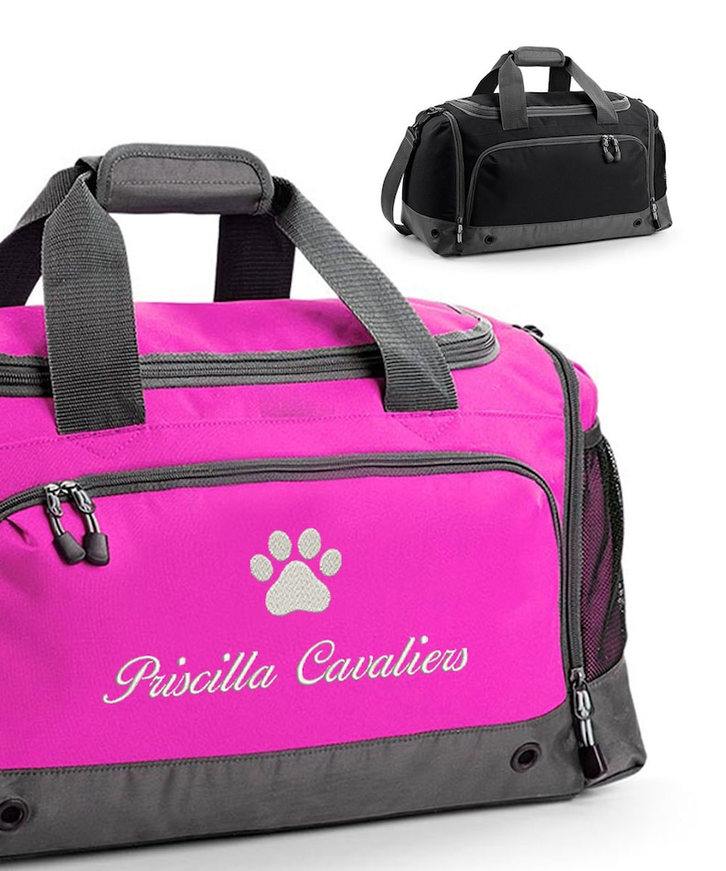 0cdcc3e8a Personalised Dog Grooming / Show Bag, Dog Groom Bag, Pet Show Holdall, with  Embroidered Name