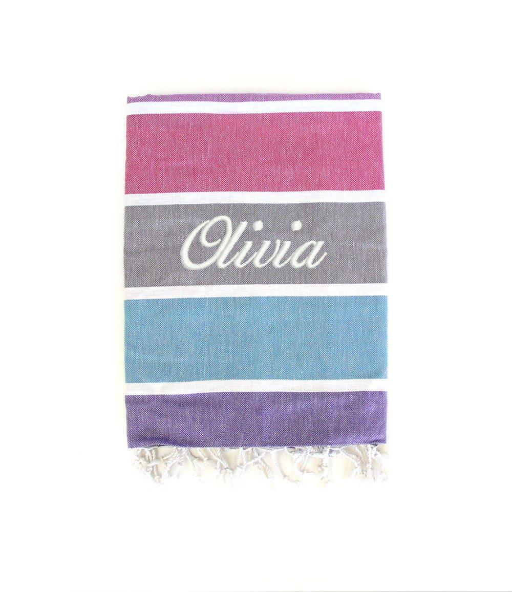 Personalised Beach Towels Hammam Towel Beach Blankets