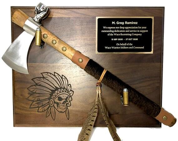 Tomahawk Award Plaque