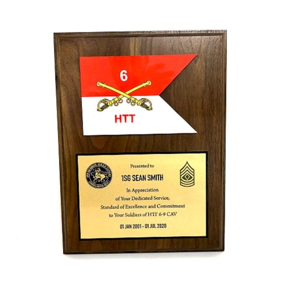 Guidon Award Plaque
