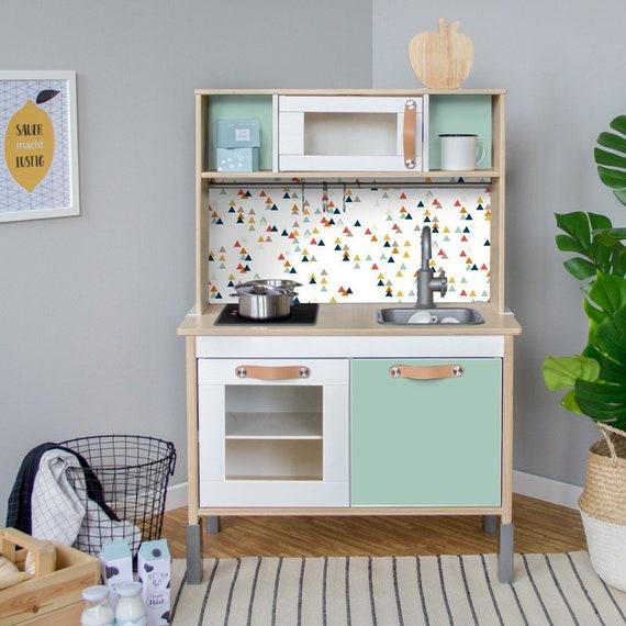 Duktig Ikea Kuchnia Dziecięca Naklejka Clingfilm Folia Etsy