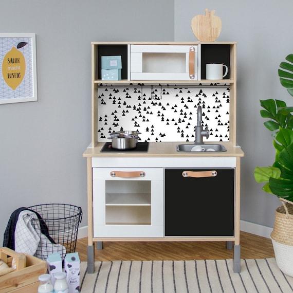Duktig Ikea Kinderen Keuken Sticker Zelfklevende Folie Etsy