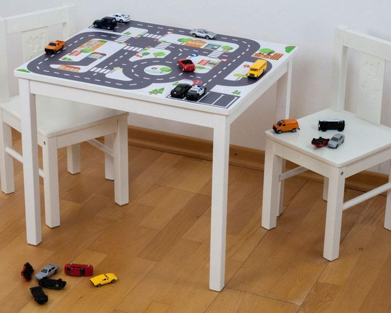 Tavoli Da Gioco Per Bambini : Adesivi tavolo per bambini tavolo da gioco ikea kritter etsy
