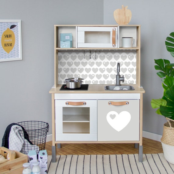 Duktig Kitchen Sticker Play Kitchen Decal Play Kitchen Ikea Stickers Kids Kitchen Set Children Kitchen Grey Kitchen Not Included