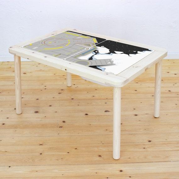 Planner stickers, ruimte kwekerij, IKEA FLISAT, kinder tafel, speeltafel, stickers, spelen mat, spelen deken, planeten, (meubels niet inbegrepen)
