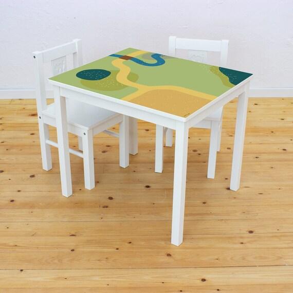 Ikea Kinder Stühle und Tisch in blau in 77694 Kehl für 50,00