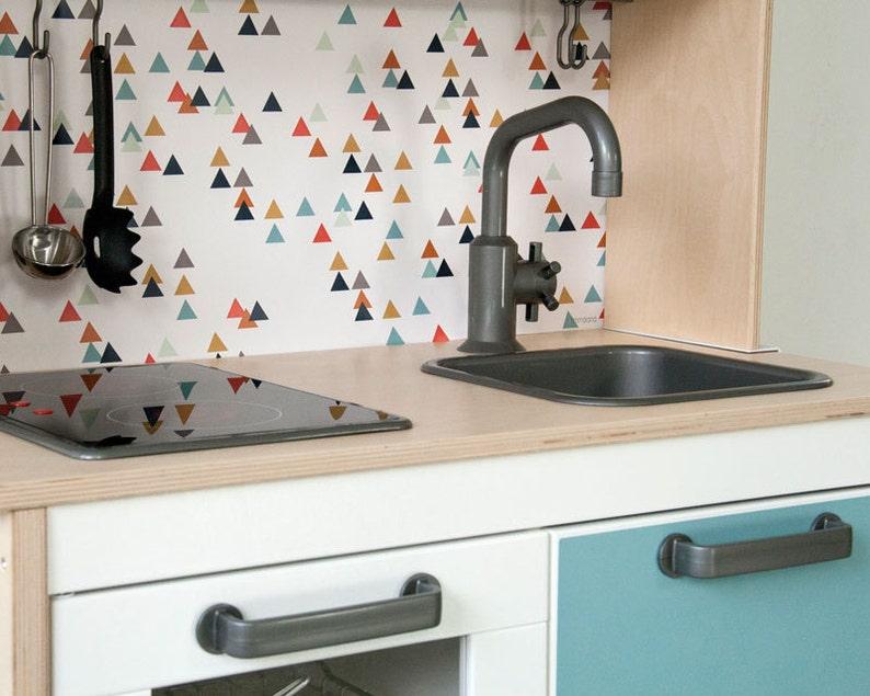 Keuken Ikea Kinderen : Duktig ikea kinderen keuken sticker zelfklevende folie etsy