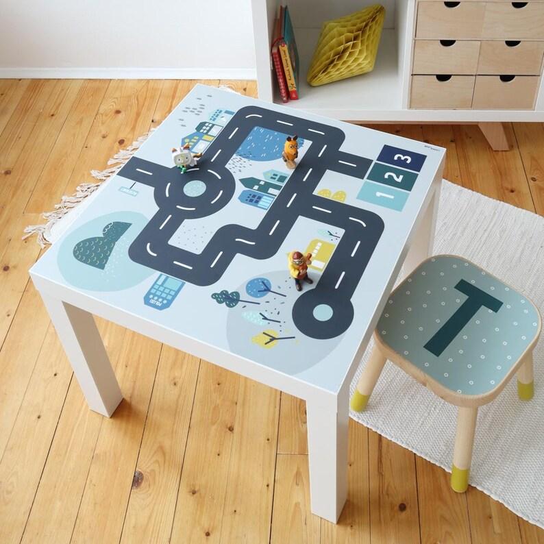 Adesivi tavolo per bambini tavolo da gioco IKEA LACK oKBNSQRT