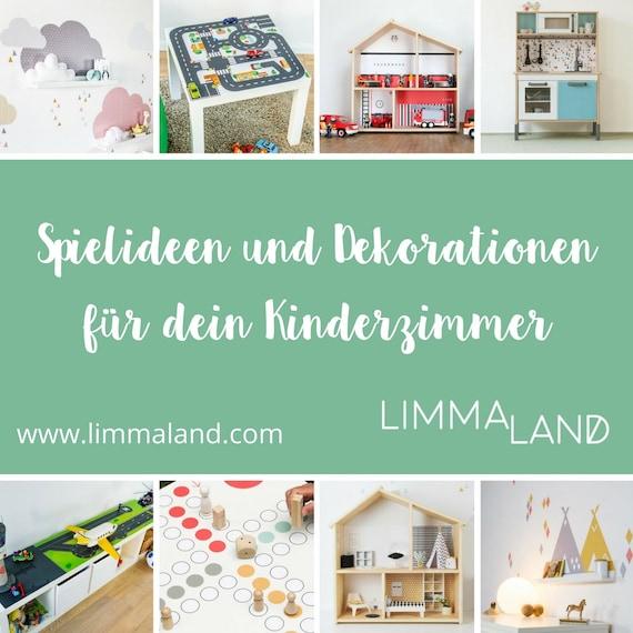 DUKTIG, IKEA Kinderküche, Aufkleber, Klebefolie, Möbelfolie, Sticker,  Wandtattoo, Kinderzimmer, Babyzimmer, Mint, (Möbel NICHT inklusive)