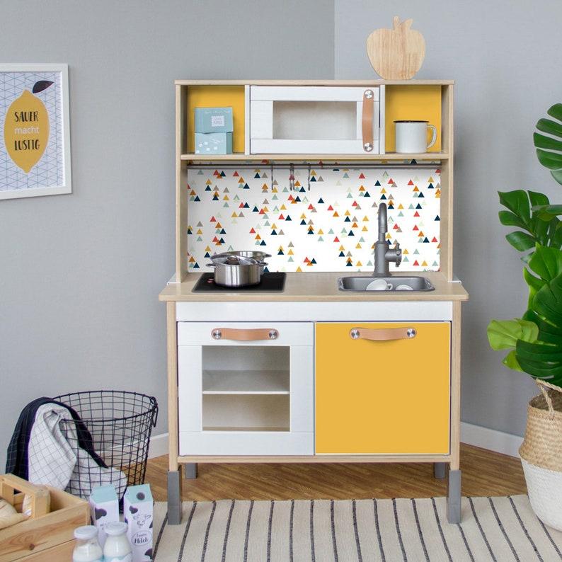Duktig Ikea Kinderen Keuken Sticker Zelfklevende Folie Meubilair Folie Sticker Muur Stickers Kinderkamer Babyruimte Meubilair Niet