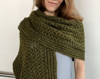 Crochet Scarf Pattern Etsy