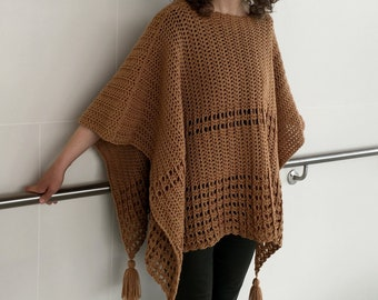 f05285753 Crochet Poncho PATTERN Easy