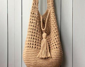 Crochet Tote Bag Etsy