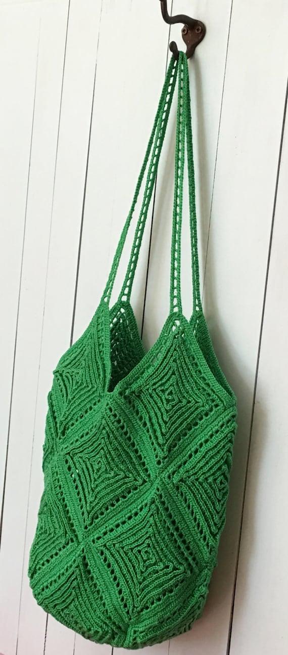 Crochet Pattern Tote Bag Crochet Pattern Handbag Crochet Etsy