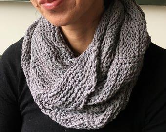 Crochet Cowl PATTERN PDF, Crochet Cowl Tutorial, Infinity Scarf Crochet Pattern, Crochet Scarf Pattern, Scarf Pattern Women, Electronic PDF