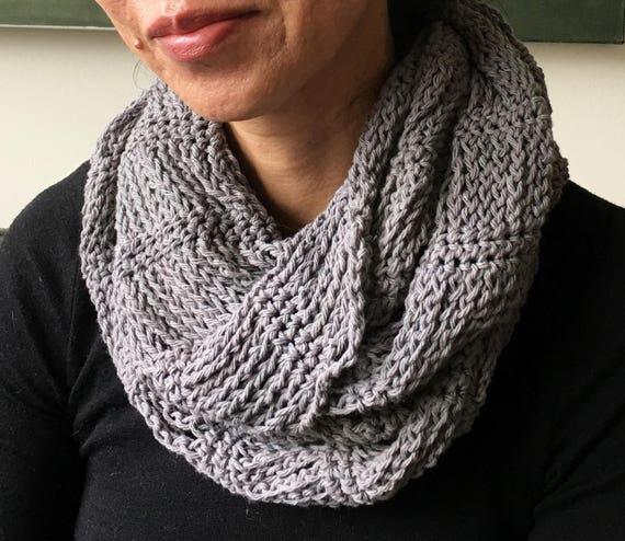 Crochet Cowl Pattern Pdf Crochet Cowl Tutorial Infinity Etsy
