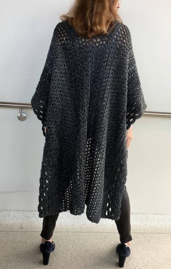 Crochet Poncho PATTERN Crochet Cape Pattern Crochet Ruana | Etsy