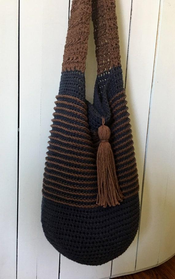 4db1713526 Crochet Bucket Bag PATTERN Crochet Bag Pattern Boho Bag