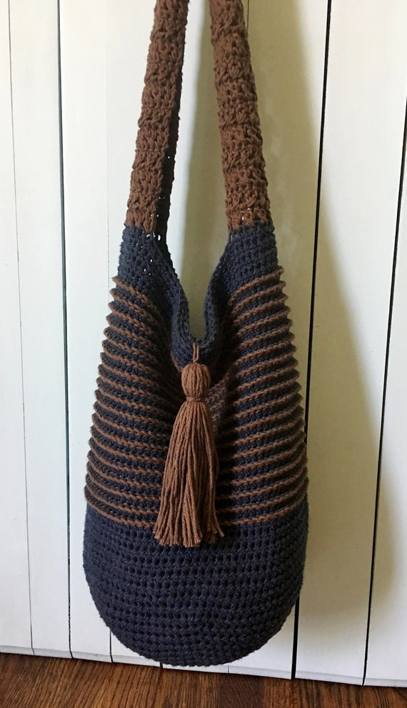 Crochet Bag Pattern Crochet Tote Bag Pattern Slouchy Bag Etsy